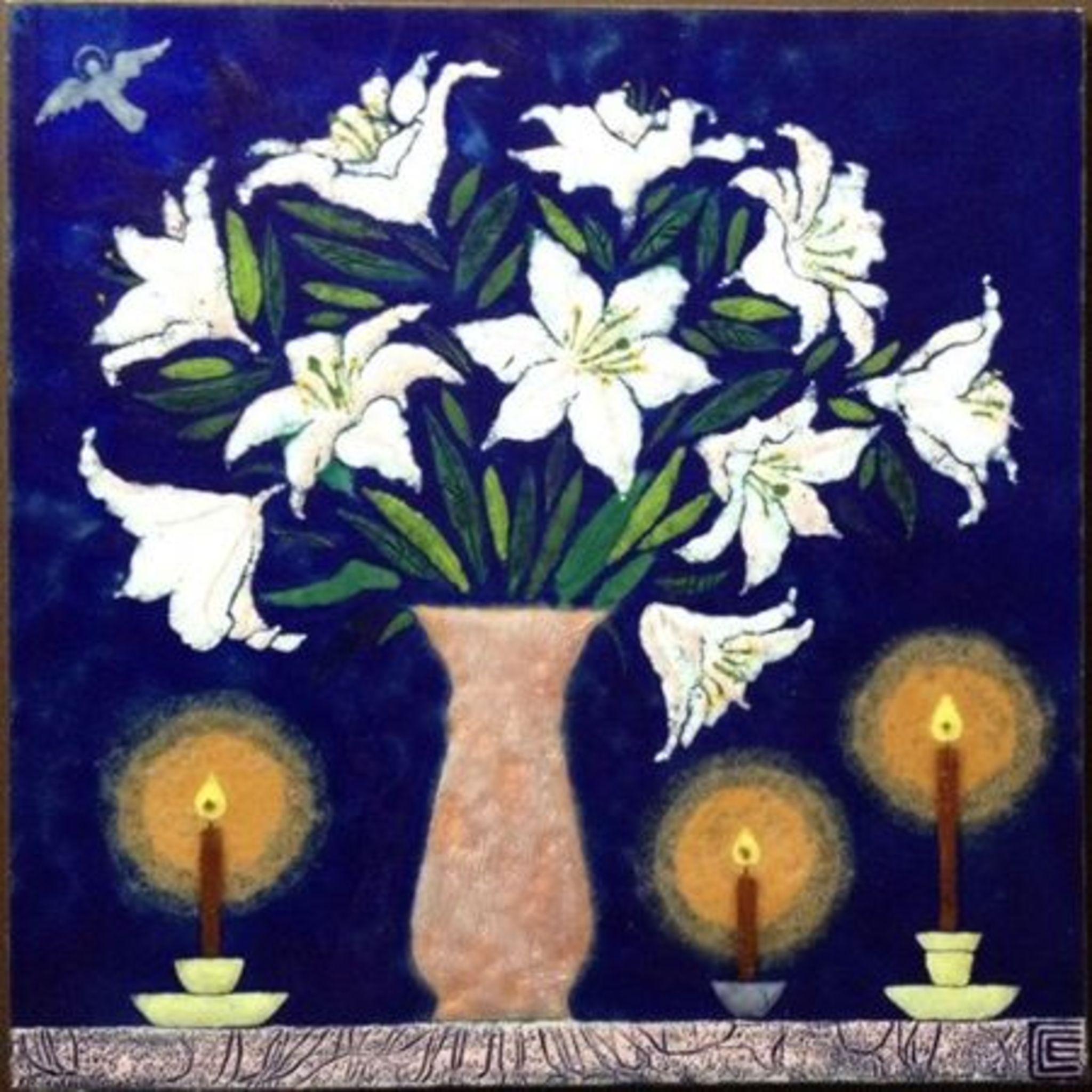 Выставка Елены Сахаровой-Староверовой «Букет эмалевого света»