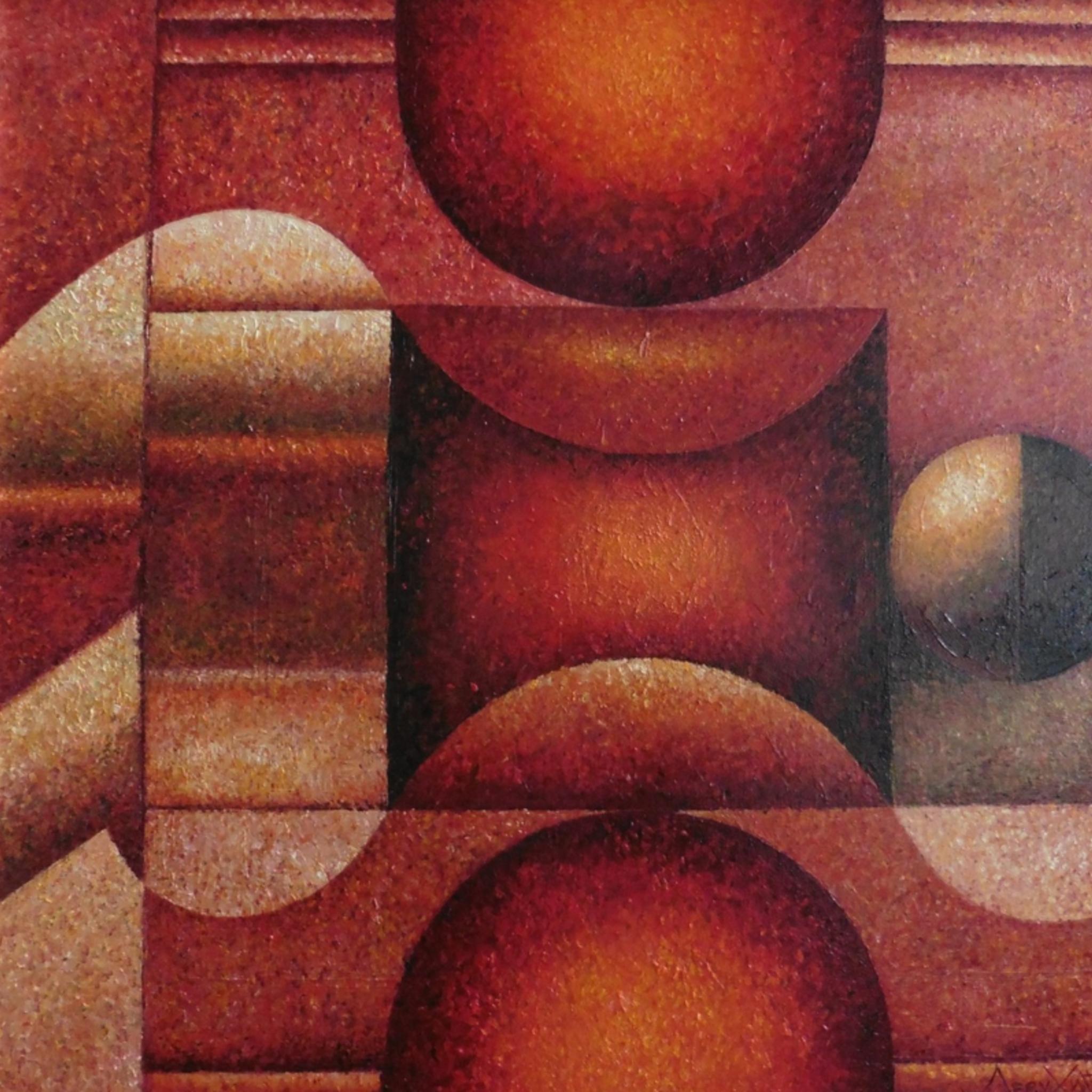 Выставка Григория Лесухина «Красный лев и цветущая сакура»