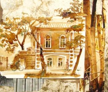 Выставка Маргариты Чинцовой «Екатеринбург. Атмосфера»