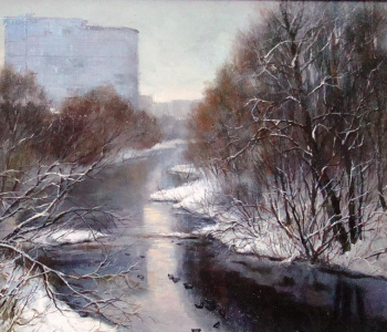 Выставка Галины Аксёновой «Городские пиксели, расширение»
