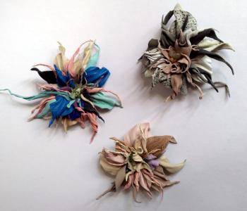 Выставка кожаных изделий Татьяны Анатольевны Коркиной «Цветочная поляна»